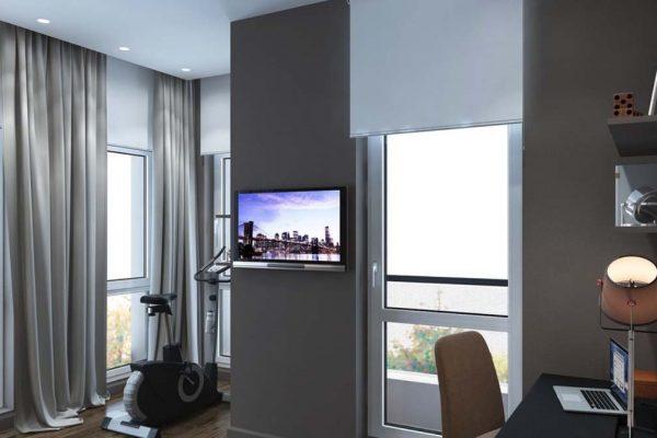 Дизайн проект квартиры 115м2