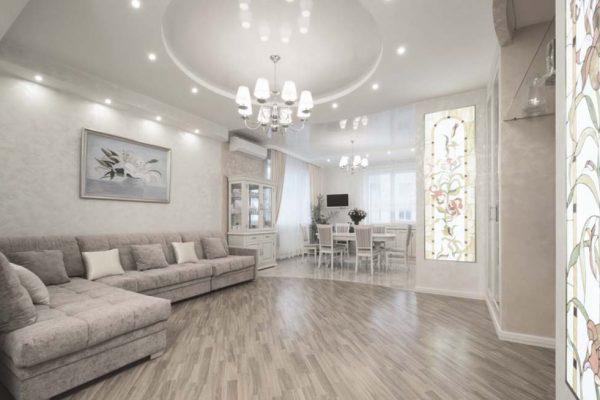 Дизайн проект квартиры 46м2