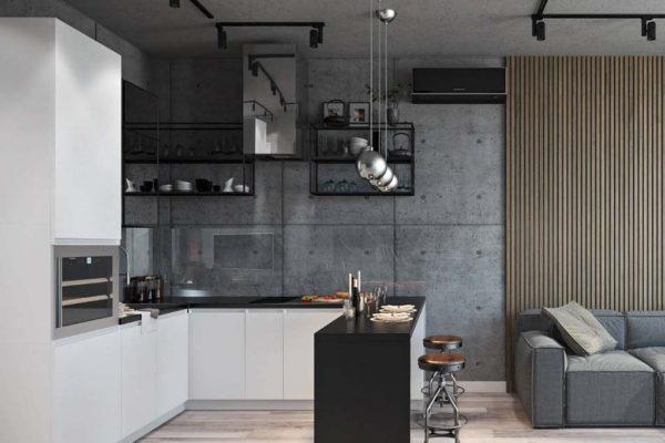 Дизайн проект квартиры 57м2