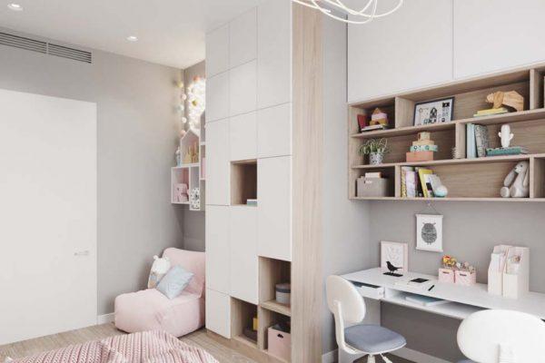 Дизайн проект квартиры 71 м2