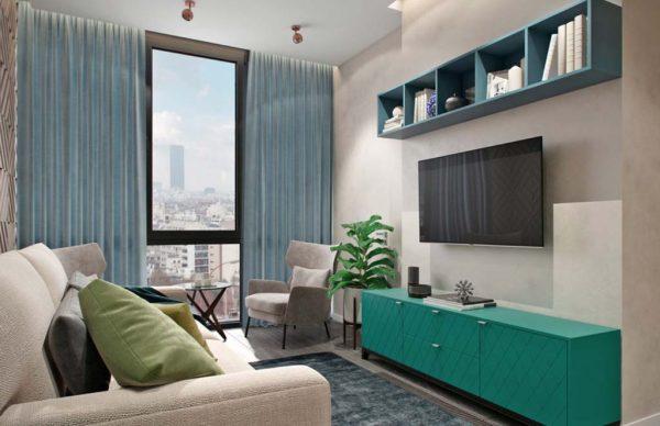 Дизайн проект квартиры 73 м2