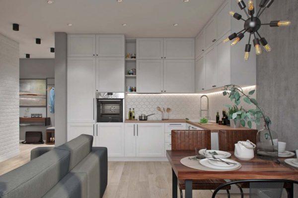 Дизайн проект квартиры 74 м2