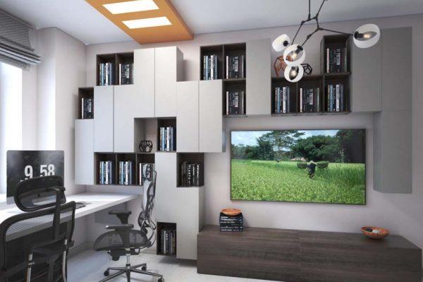 Дизайн проект квартиры 82м2