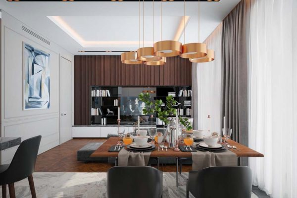 Дизайн проект квартиры 87м2