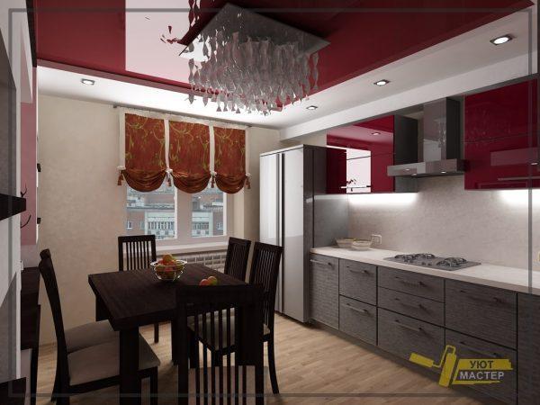 Кухня под ключ 21 м2