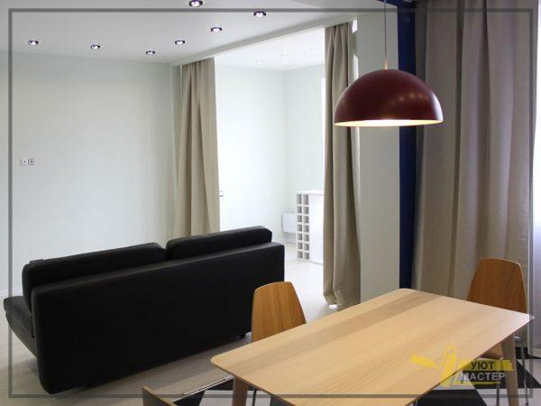 Отделка квартиры 49 м2