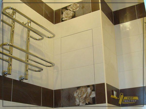 Ремонт ванной под ключ 3 м2