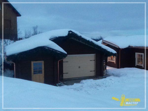 Строительство гаража 14 м2