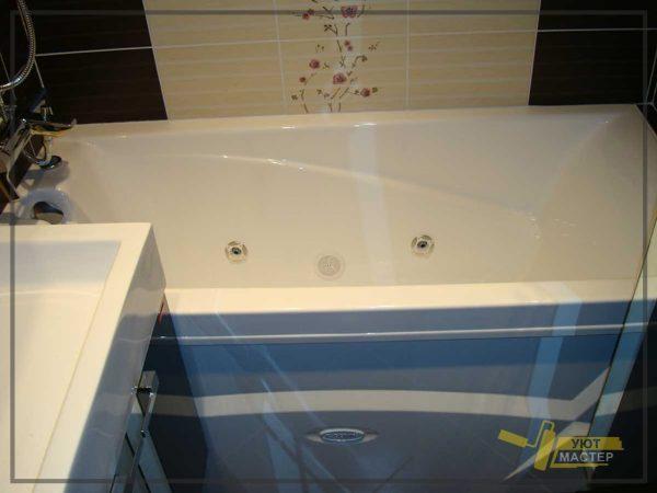 Ремонт ванной под ключ 3,5 м2